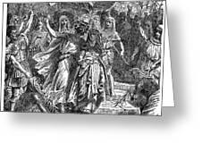 MARC ANTONY & CLEOPATRA Greeting Card by Granger