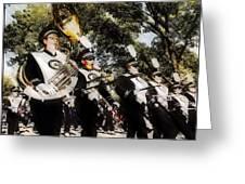 Marching Band Greeting Card by Charles McDonald