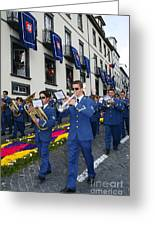 Marching Band Greeting Card by Gaspar Avila