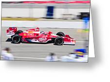 Marco Andretti At Toronto Indy Greeting Card by Jarvis Chau