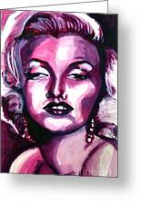 Marilyn Monroe Greeting Card by Hannah Chusid