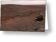 Mars Exploration Rover Spirit Greeting Card by Stocktrek Images