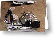 Mars Rover Testing Greeting Card by Ria Novosti