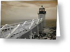 Marshall Point Greeting Card by PMG Images