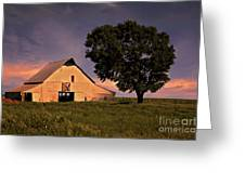 Marshall's Farm Greeting Card by Lana Trussell