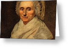 Mary Washington - First Lady  Greeting Card by International  Images