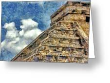 Mayan Mysteries Greeting Card by Jeff Kolker