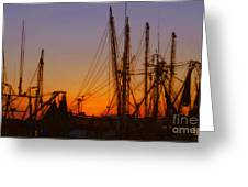 Mayport Greeting Card by Lydia Holly