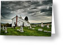 Mcelwee Chapel Series II Greeting Card by Kathy Jennings