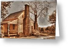 Mclean House Kitchen Greeting Card by Dan Stone
