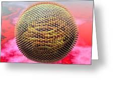 Measles Virus Greeting Card by Russell Kightley