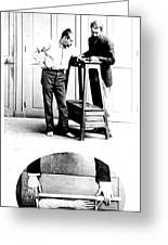 Measurement Of The Cubit, Bertillon Greeting Card by Science Source