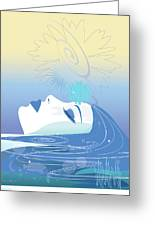 Meditation Greeting Card by Lisa Henderling