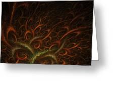 Medusa Greeting Card by Lourry Legarde