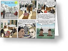 Meeting Puting  Greeting Card by Kevin  Marley