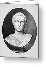 Menander (343-291 B.c.) Greeting Card by Granger
