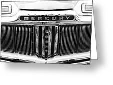 Mercury Grill  Greeting Card by Kym Backland