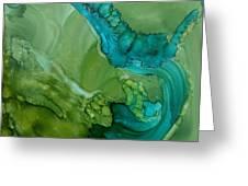Mermaid Greeting Card by Joyce Auteri