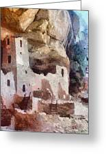 Mesa Verde Greeting Card by Jeff Kolker