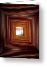 Mesmerizing Light Greeting Card by Roger Green