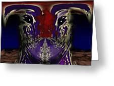 Metamorphosis Greeting Card by Christopher Gaston