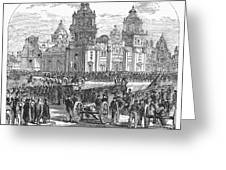 Mexico City, 1847 Greeting Card by Granger