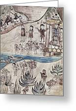 Mexico Indians C1500 Greeting Card by Granger