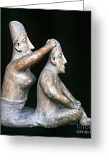 Mexico: Totonac Figures Greeting Card by Granger