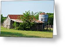 Middle Barn Greeting Card by Lisa Moore