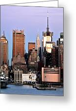 Midtown Manhattan 03 Greeting Card by Jeff Stein