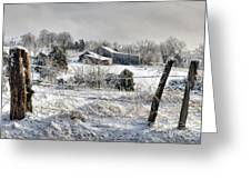 Midwestern Ice Storm - D004825 Greeting Card by Daniel Dempster