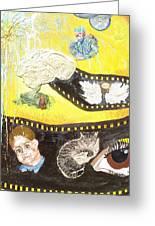 Mike's Reel Greeting Card by Lisa Kramer