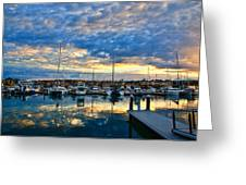 Mindarie Sunrise Greeting Card by Imagevixen Photography