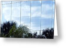 Mirrored Facade 1 Greeting Card by Stuart Brown