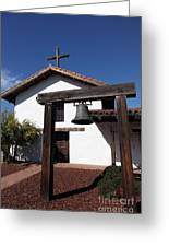 Mission Francisco Solano - Downtown Sonoma California - 5d19301 Greeting Card by Wingsdomain Art and Photography