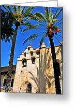 Mission San Gabriel Arcangel Greeting Card by Lyle  Huisken