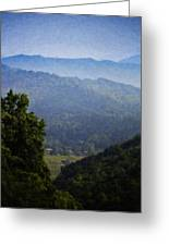 Misty Virginia Morning Greeting Card by Teresa Mucha