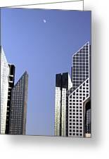 Modern Architecture  Greeting Card by Radoslav Nedelchev