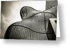 Modern Basket Weaving In London Greeting Card by Lenny Carter
