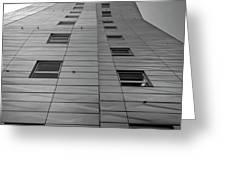 Modern Building Chelsea Nyc 4 Greeting Card by Robert Ullmann