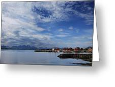 Molde Greeting Card by Chad Bromley