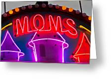 Moms Place Greeting Card by Mitch Shindelbower
