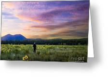 Monet Morning Greeting Card by Arne Hansen