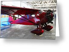 Monocoupe 110 . 7d11144 Greeting Card by Wingsdomain Art and Photography