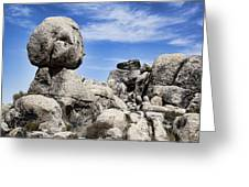 Monolithic Stone Greeting Card by Kelley King