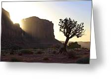 Monument Valley At Sunset Greeting Card by Mike McGlothlen
