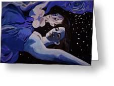 Moonwaters Greeting Card by Adam Kissel