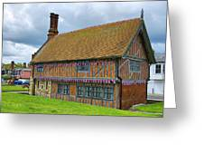 Moot Hall Aldeburgh Greeting Card by Chris Thaxter