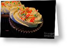 More Cupcakes Greeting Card by Cheryl Young