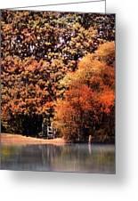 Morning Mist Landscape Greeting Card by Jai Johnson